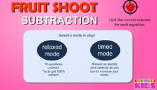 Fruit shoot subtraction