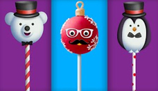Christmas Cake Pops Finger Family