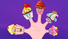Cup Cakes Finger Family