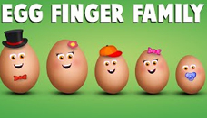 Egg Finger Family