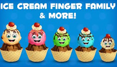 Ice Cream Finger Family Collection