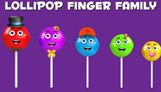Lollipop Finger Family