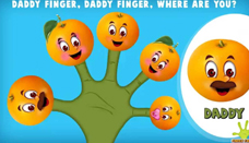 Orange Finger Family