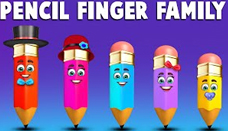 Pencil Finger Family