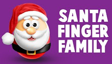 Santa Finger Family