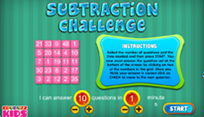 Subtraction Challenge