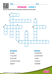 Crosswords with e