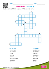 Crosswords with y