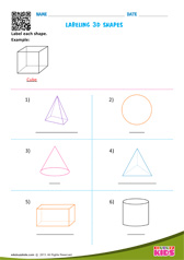 Labeling 3D shape