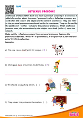 Identify the reflexive pronouns