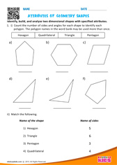 Attributes of Geometry Shapes