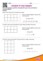 Extension of Math Drawings