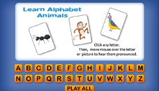 Learn Alphabet Animals