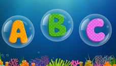 ABC Songs for Children - ABCD Song in Under Sea