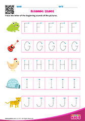 Beginning Sounds F to J