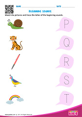 Beginning Sounds P to T