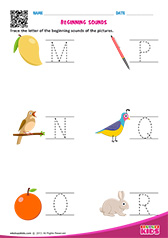 Beginning Sounds M to R