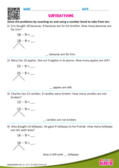 Counting on and number bond method